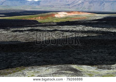 The thermal field in Iceland