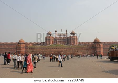 Red Fort, through people
