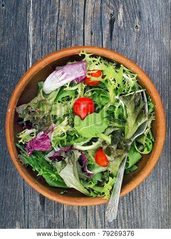 Rustic Salad Greens