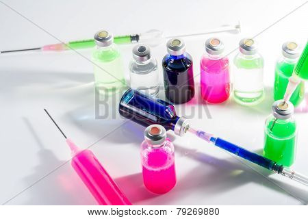 Medicine Laboratory Injection