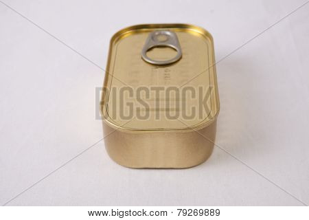 Rectangular Tin Can