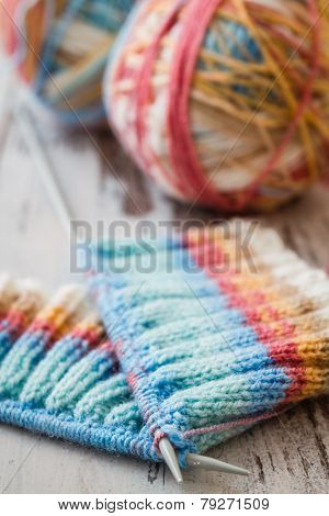 Knitting With Spokes