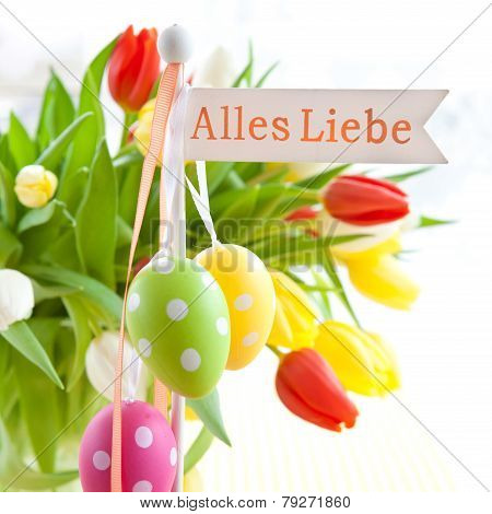 Fresh Tulips For Easter