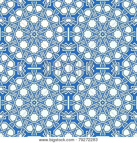 Intricate Moorish Eastern Pattern