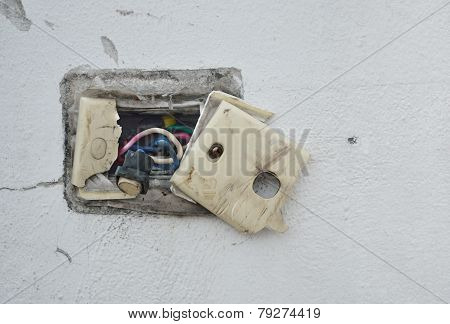 Undone Ac Power Socket