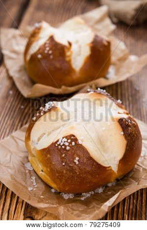 Salted Pretzel Roll
