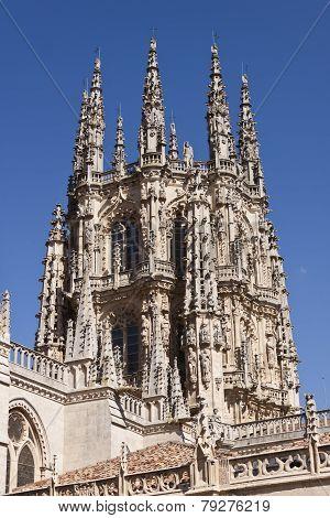 Burgos Cathedral Detail.
