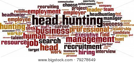 Head Hunting Word Cloud