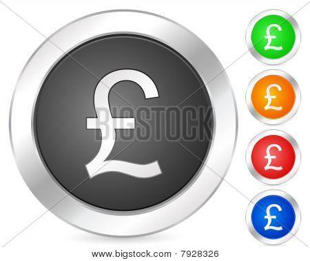 Computer Icon British Pound
