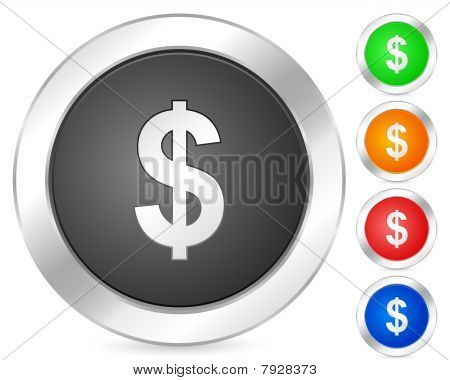 Computer Icon Dollar