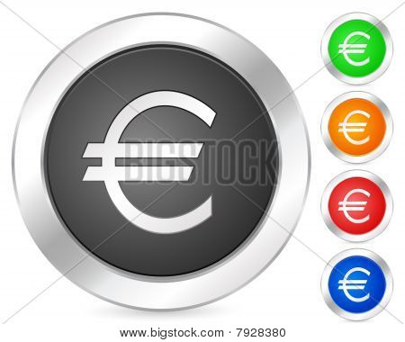 Computer Icon Euro