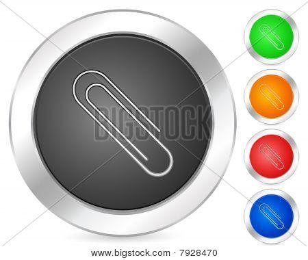 Computer Icon Papper Clip