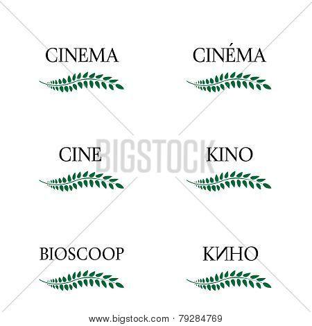 Cinema Laurels In Different Languages 3
