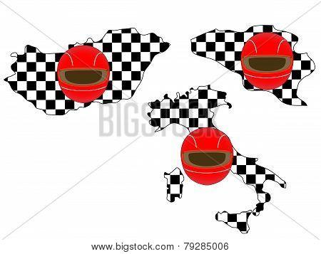 Racing Flag Maps 5