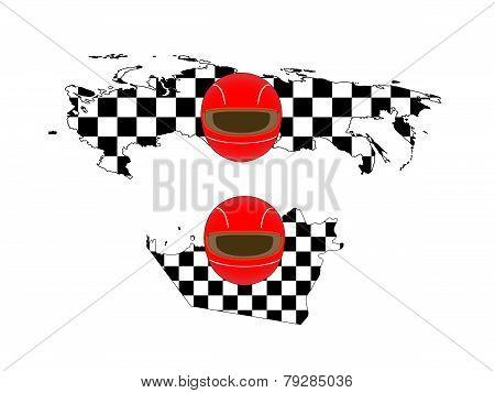 Racing Flag Maps 8