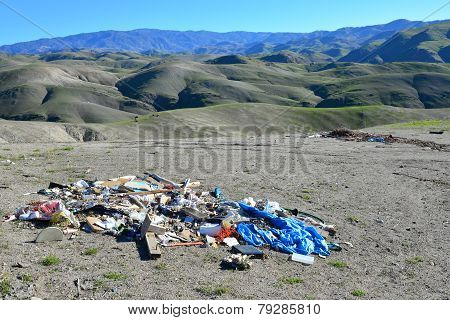 Illegal Trash Dumping