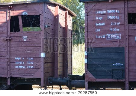 Trains for consentration camps