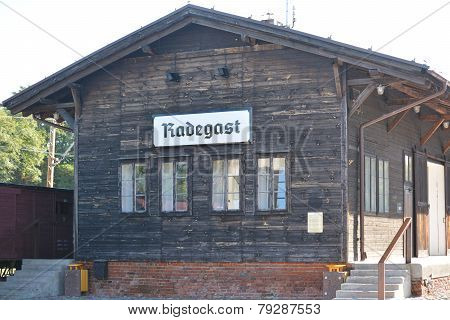 Radegast train station