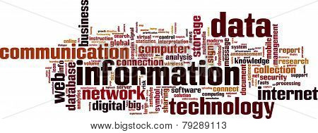 Information Word Cloud