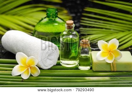 Spa and aromatherapy concept shot