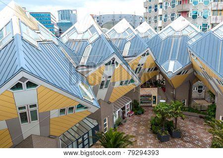 The Kubus-buildings Rotterdam