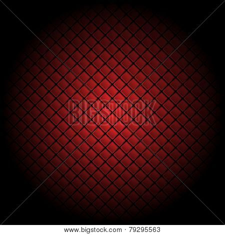 Red tile background pattern illustration