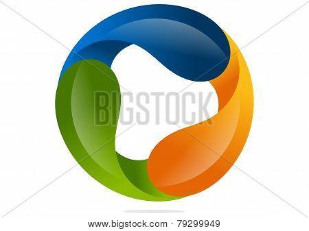 corporate infinity business logo