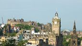 stock photo of domination  - Edinburgh skyline - JPG