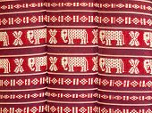 image of northeast  - Pattern is a pillow of Northeast Thailand - JPG
