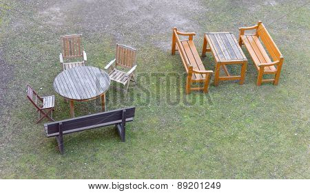 Group Of Garden Furniture