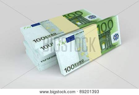 Euro Banknotes. Money And Business Concepts