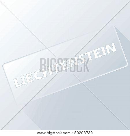 Liechtenstein unique button