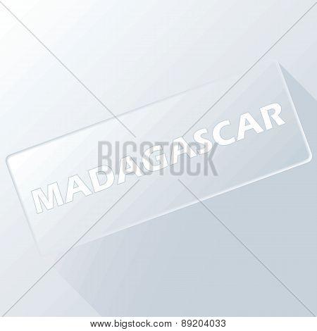 Madagascar unique button