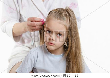 My Daughter Is Tired Of Long Hair Splicing
