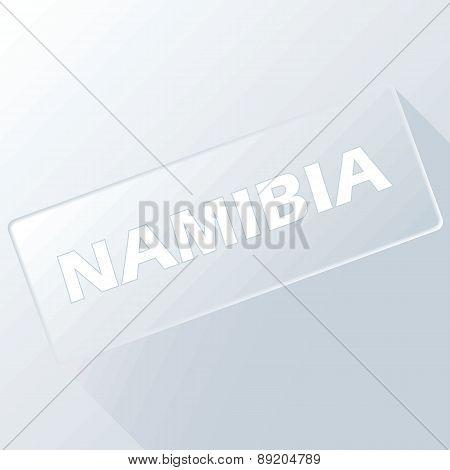 Nambia unique button