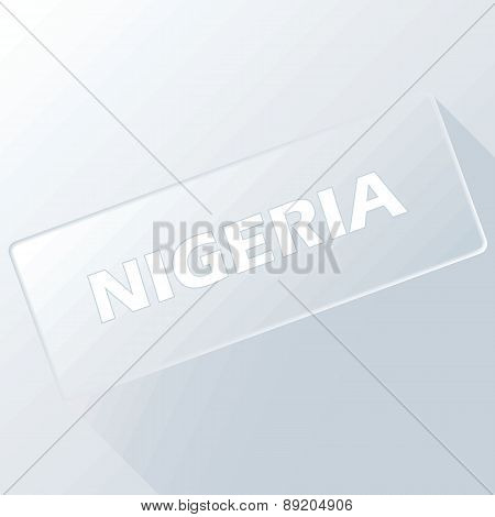 Nigeria unique button