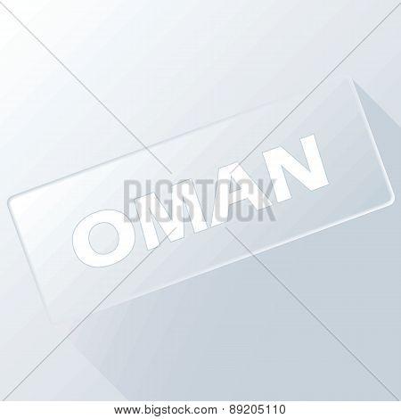 Oman unique button