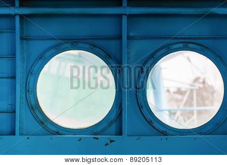 Portholes Inside The Aircraft