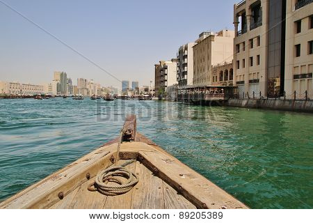 Wooden Boats In Dubai