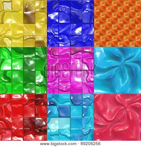 Sweet Candy Tiles Seamless Texture