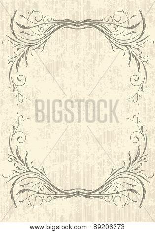 Elegant Vintage Background