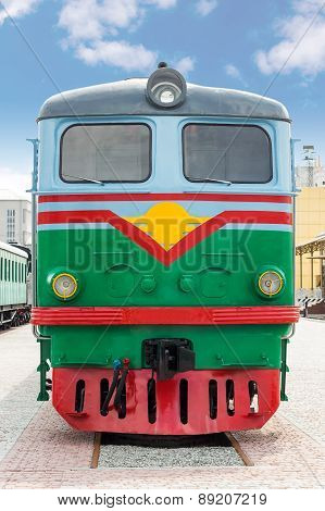 Train front view
