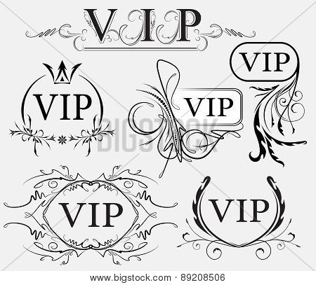 Set Of Vip Decors
