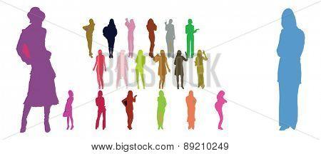 vector people