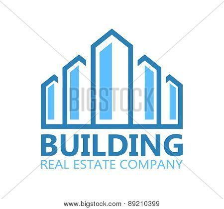 Building logo or symbol icon