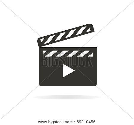 Movie vector logo or icon
