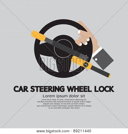 Car Steering Wheel Lock.