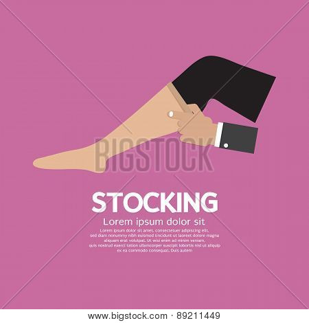 Lady Stocking Clothes Accessories.