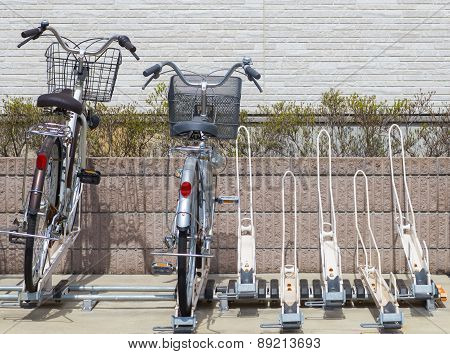 Bicycle parking space