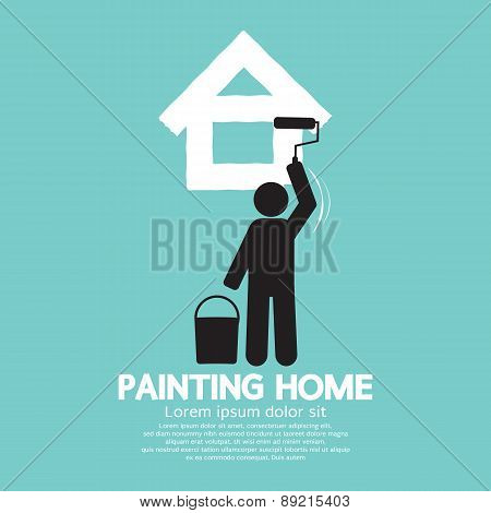 Painting Home Concept.